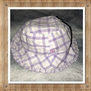 Other - 💝ADD ON ONLY💝 Plaid Sun Infant/Toddler Hat